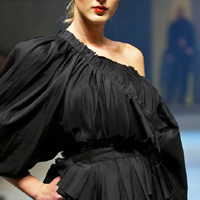 Prague fashion week - Black